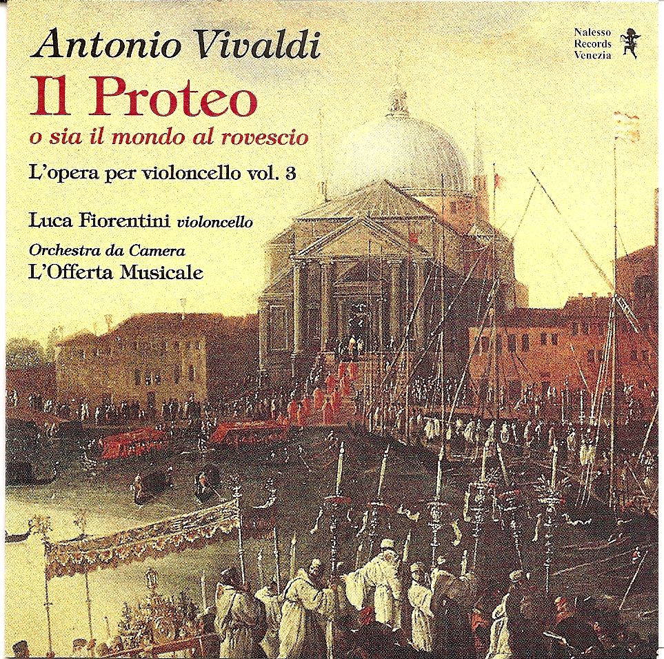 The Proteus or the world upside Antonio Vivaldi