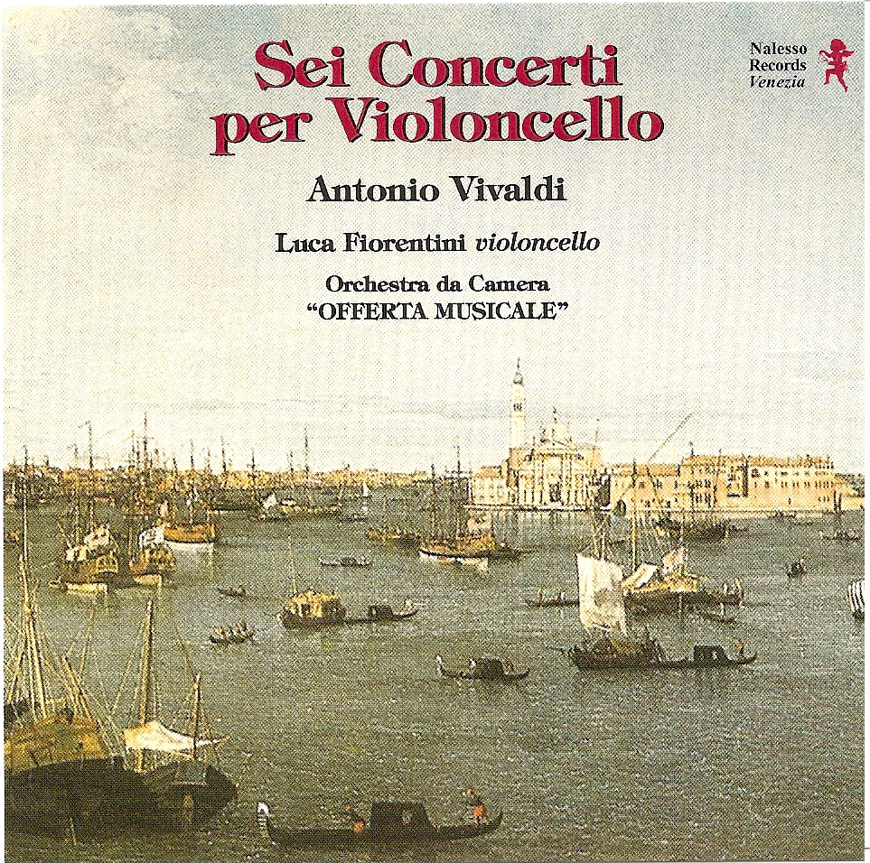 Six Concertos for Cello - Antonio Vivaldi